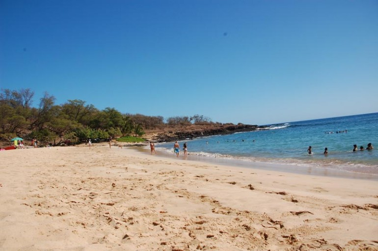 Hulopo'e Bay Beach